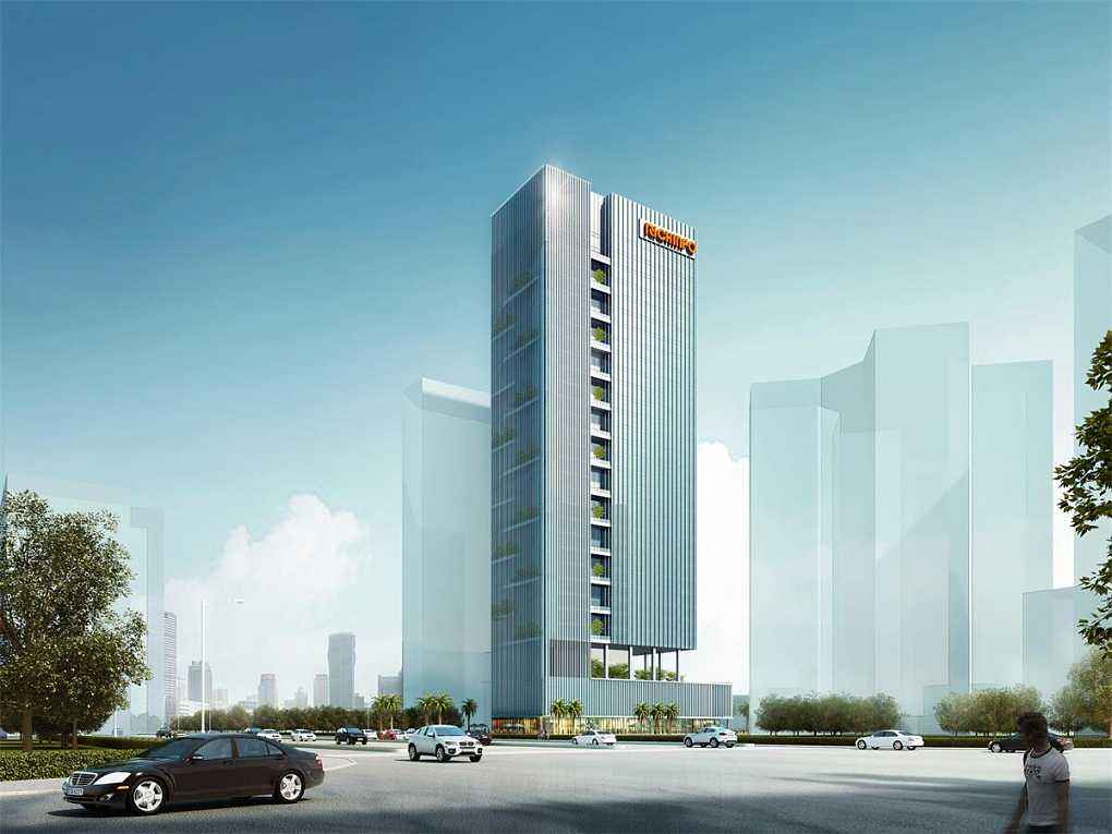 彩讯科技大厦 - 深圳市瑞鼎盛人防设备工程有限公司